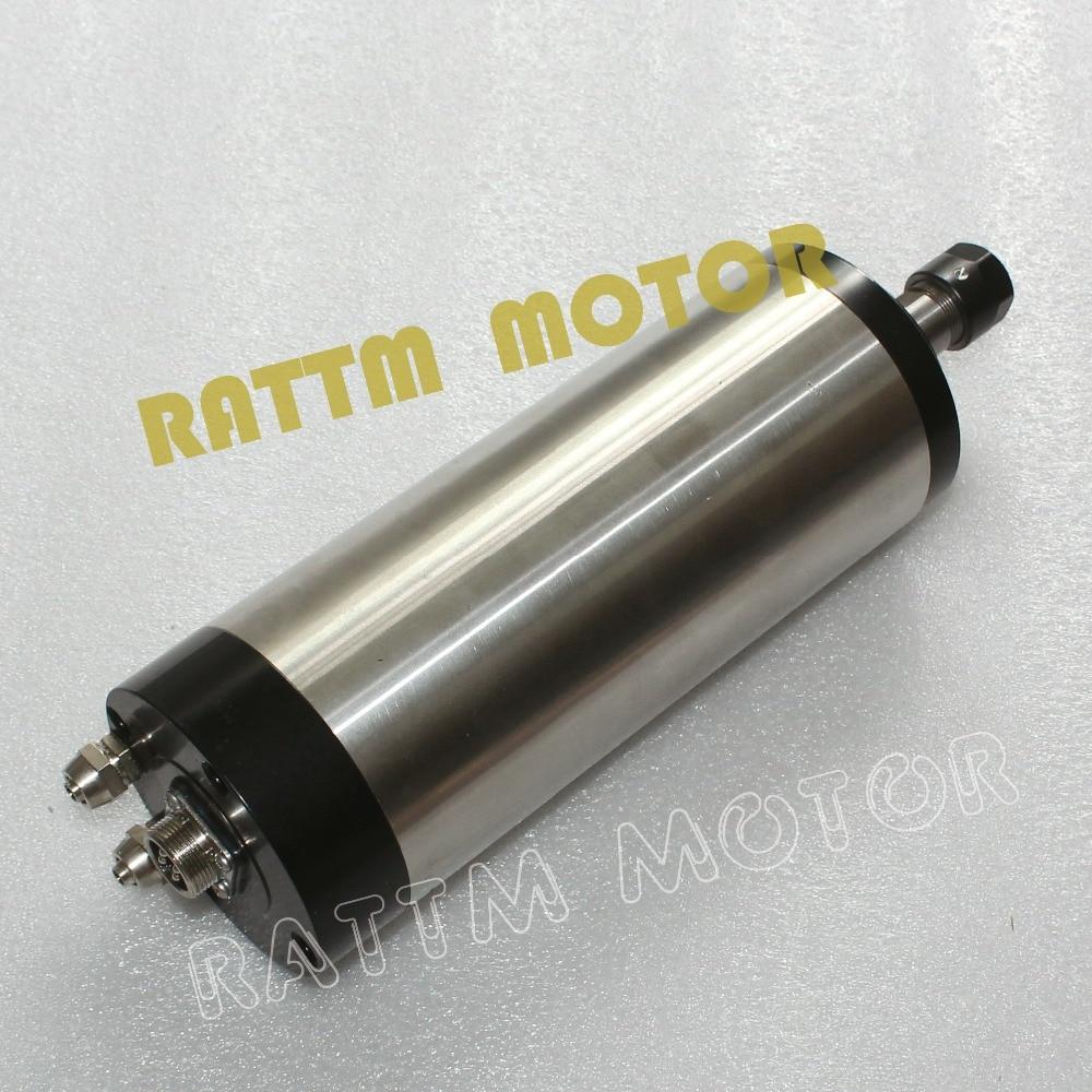 CNC Spindle Kit 1.5KW Water-cooled  ER16 spindle MOTOR ENGRAVING MILLING GRIND  цены