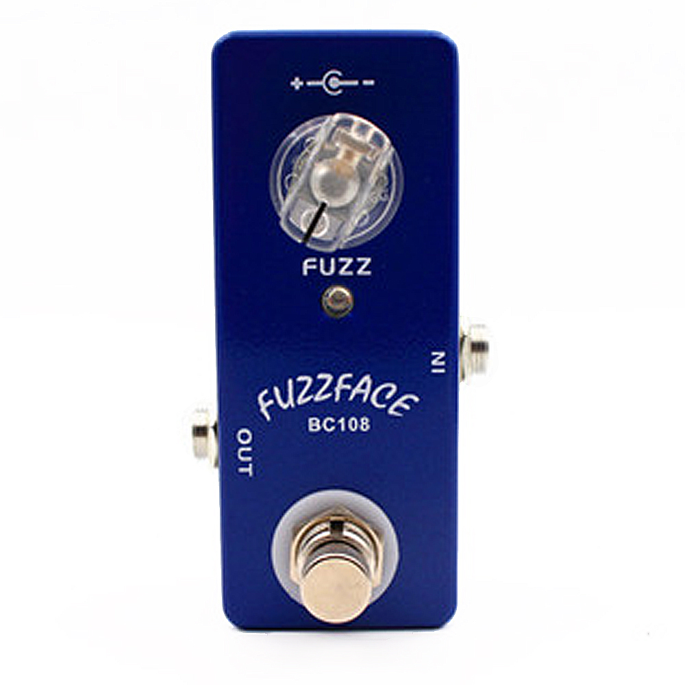 Moskyaudio FuzzFace Guitar Effect Pedal Effects Stompbox for Electric Guitar BC108 IC Based on Famous Silicon Fuzz Face 4pcs set hand tap hex shank hss screw spiral point thread metric plug drill bits m3 m4 m5 m6 hand tools