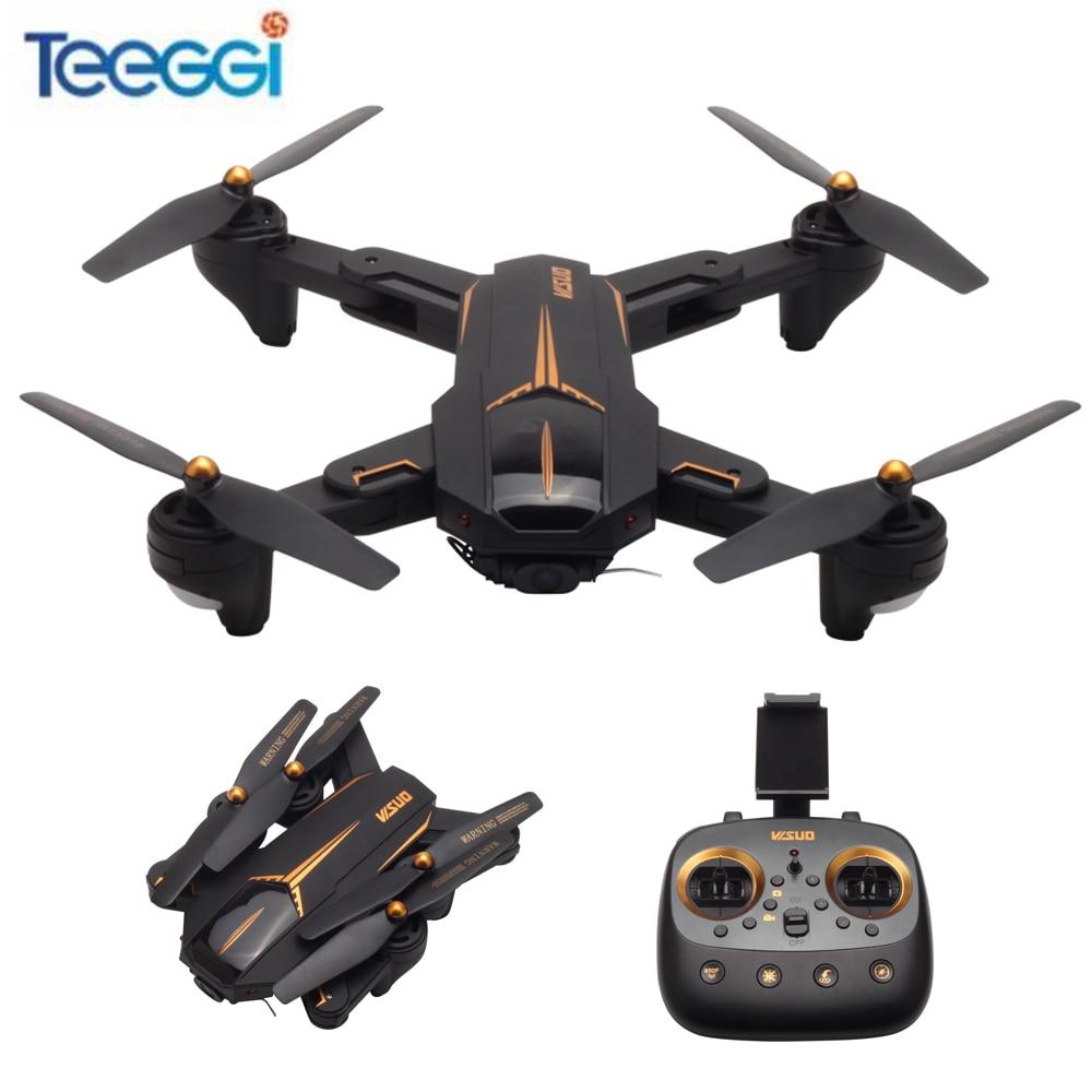 VISUO XS812 Drone RC avec 2MP/5MP Caméra HD WIFI FPV RC Hélicoptère Quadcopter Maintien D'altitude RTF Enfants cadeau de naissance VS XS809S E5