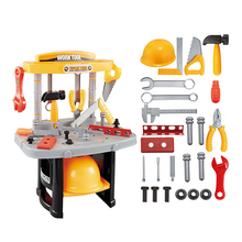 Educational Intelligence Toy Child Tools Box Engineer Set For Children Tool Gift Baby