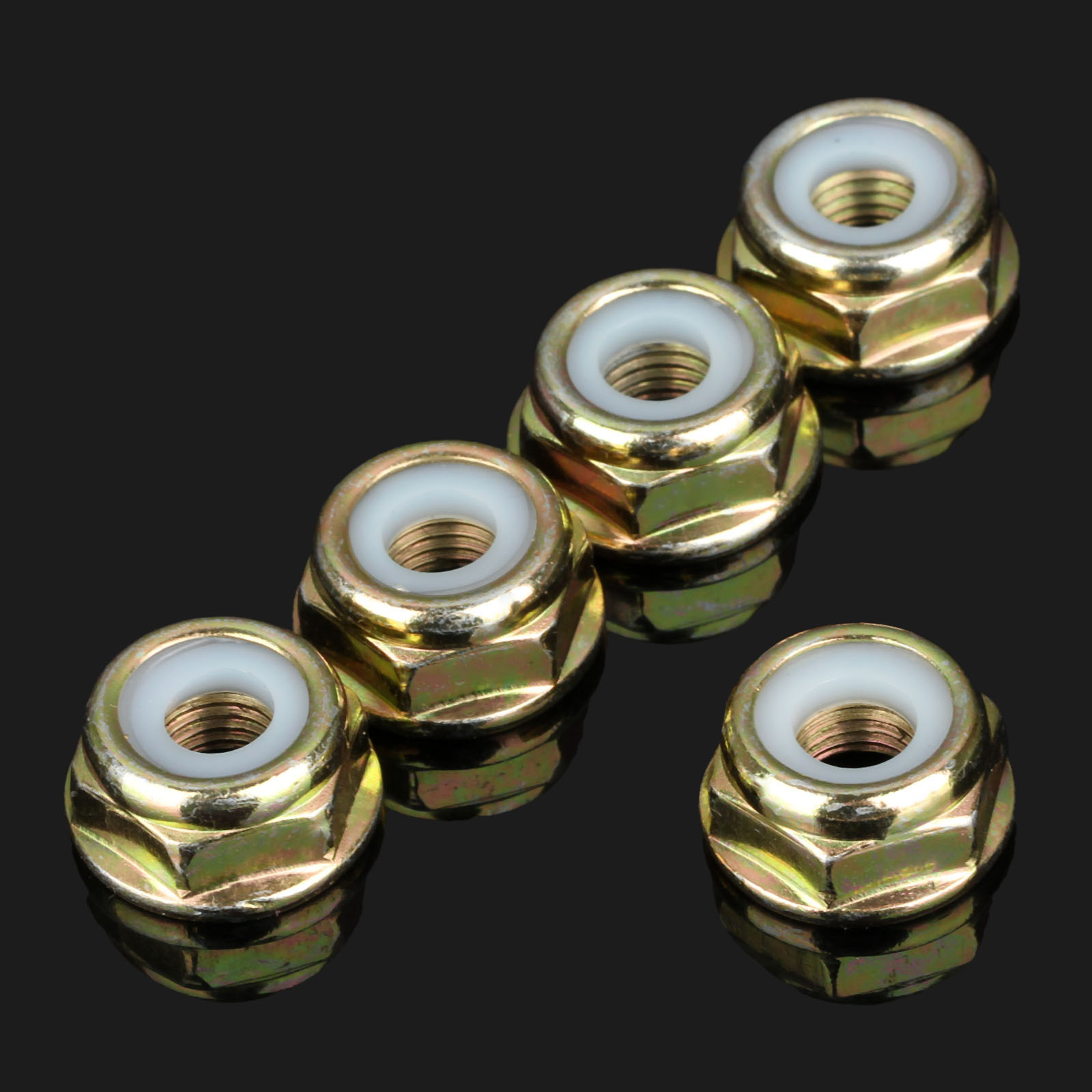 5Pcs Garden Tool Parts String Trimmer Parts Brush Cutter Gear Head Case Nut M10*1.25 Blade Nuts  Gear Head For Brush Cutters