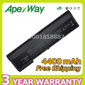 Apexway 4400mAh battery for HP Business Notebook 2710p for EliteBook 2740p 2740w 2730p 2760p OT06XL AH547AA