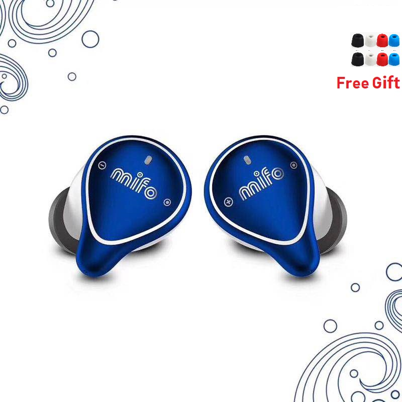 Écouteurs individuels Mifo O5 Bluetooth 5.0 véritable casque Bluetooth sans fil Binaural Mini écouteurs InEar HIFI TWS IPX7 écouteurs étanches