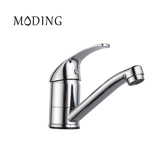 MODING Kitchen Water Mixer Solid Fine Handle Bottom Horizontal ...