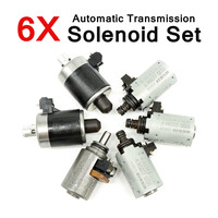 6Pcs 722.6 Solenoids Fit for Mercedes for Benz 5 SPEED Automatic Transmission Part Alloy Plastic Assembly Products Motors Parts