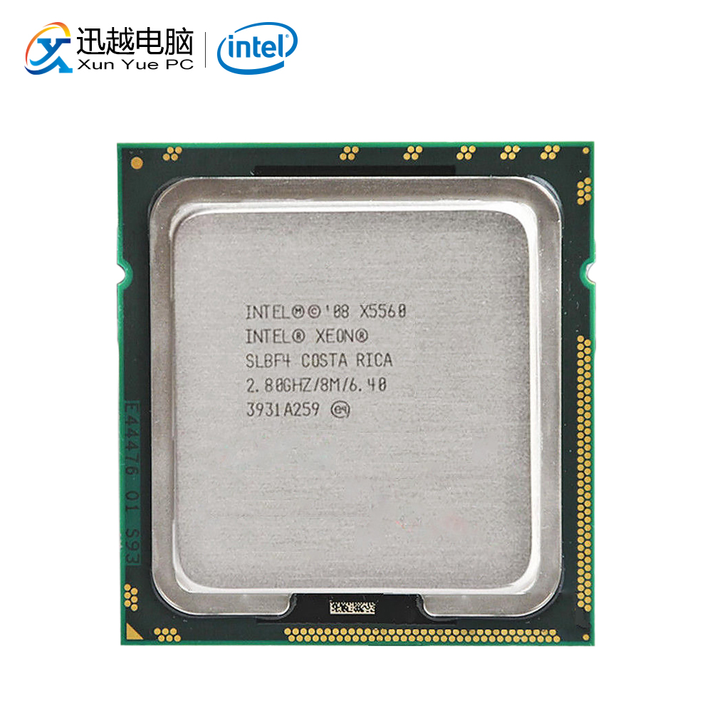 Intel Xeon X5560 Desktop Processor Quad-Core 2.8GHz SLBF4 L3 Cache 8MB LGA 1366 5560 Server Used CPU