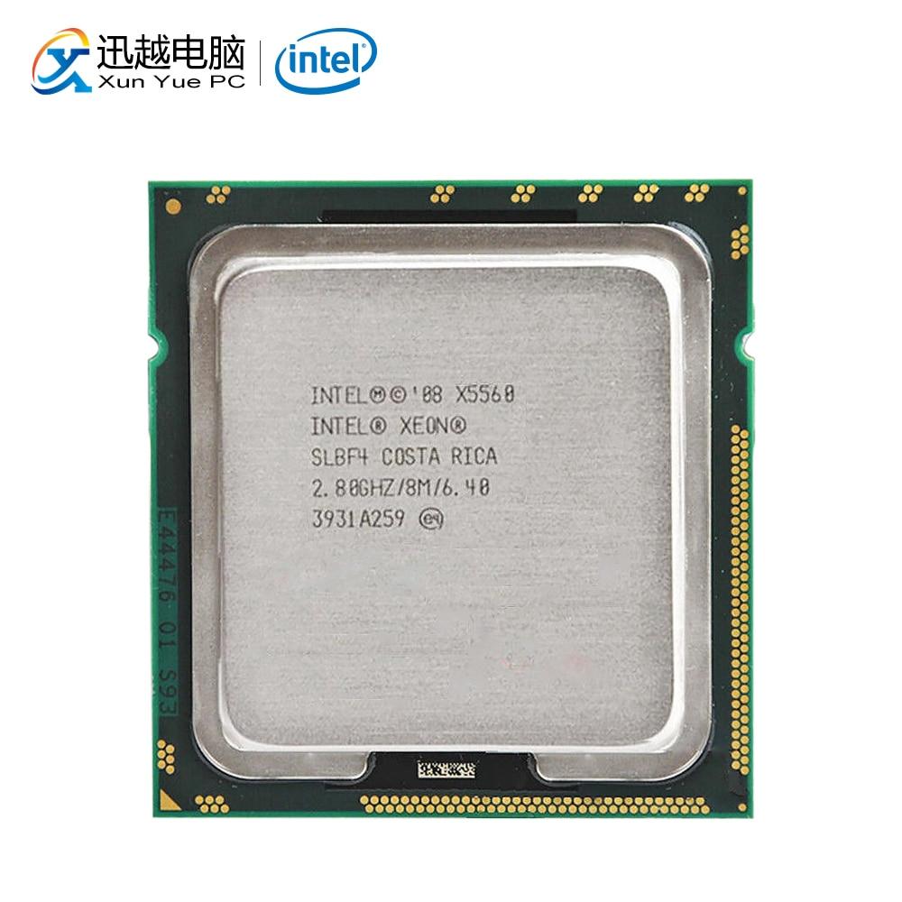 Intel Xeon X5560 Desktop Processor Quad-Core 2.8GHz SLBF4 L3 Cache 8MB LGA 1366 5560 Server Used CPU