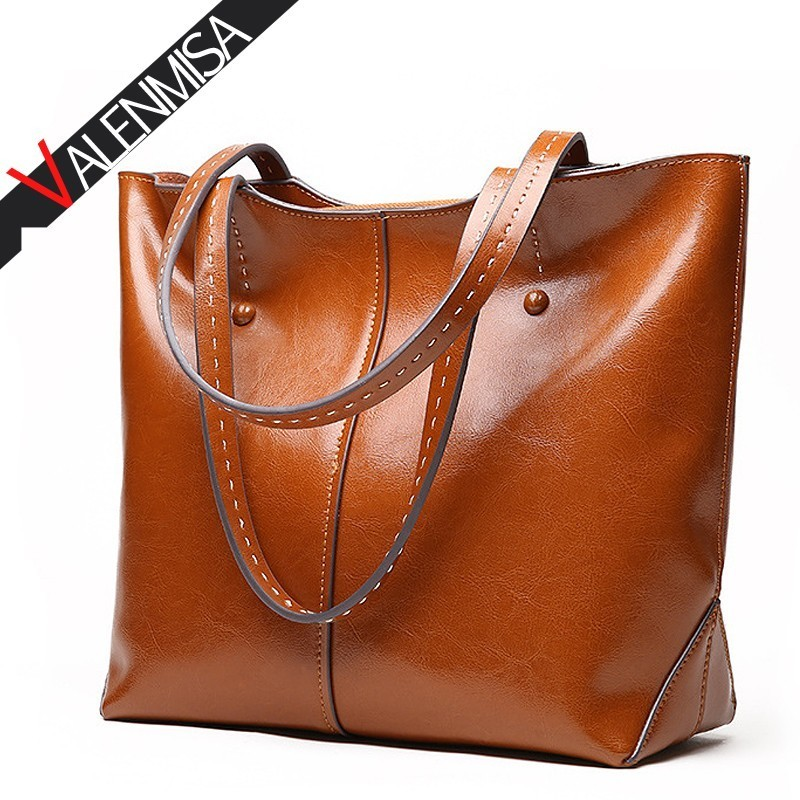 VALENMISA Women Genuine Leather Bag Female Famous Brands Luxury Handbags Women Bags Designer Shoulder Crossbody Messenger Bags chispaulo women genuine leather handbags cowhide patent famous brands designer handbags high quality tote bag bolsa tassel c165