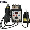 Meilleur prix FEITA FT8586 Station de dessoudage fer à souder avec pistolet à air chaud chaleur ESD embouts BGA buses à Air chaud