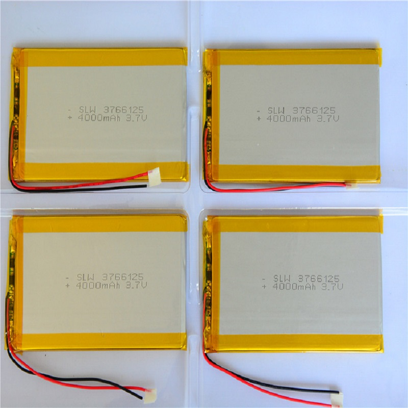 Wholesale kingwei 10pcs <font><b>Lipo</b></font> <font><b>Battery</b></font> <font><b>3.7v</b></font> rLithium Li-Polymer <font><b>Battery</b></font> <font><b>4000MAH</b></font> For Helicopter Phone Smartwatch Earphone image