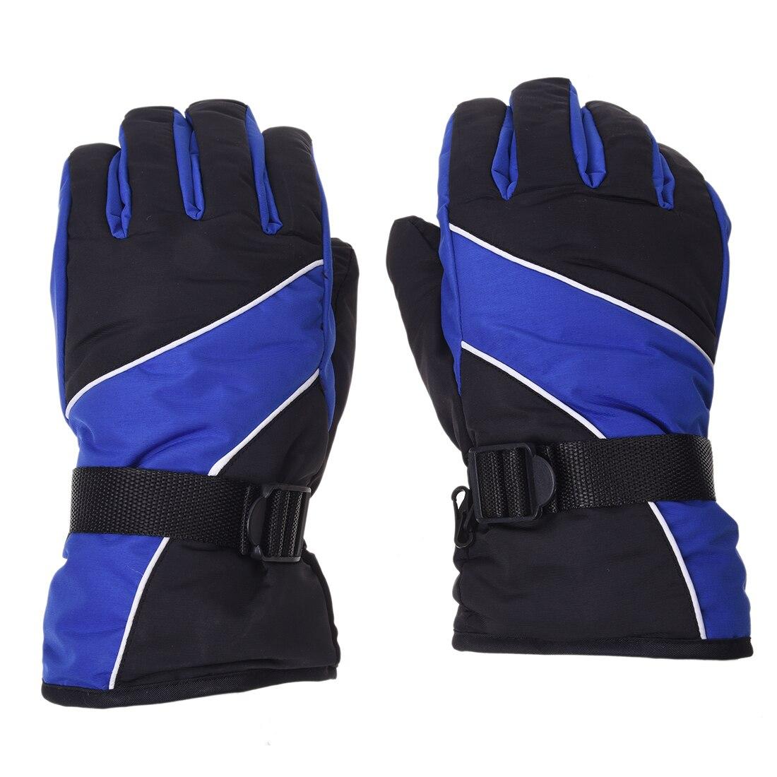 Men Ski Gloves Thermal Waterproof For Winter Outdoor Sports Snowboard