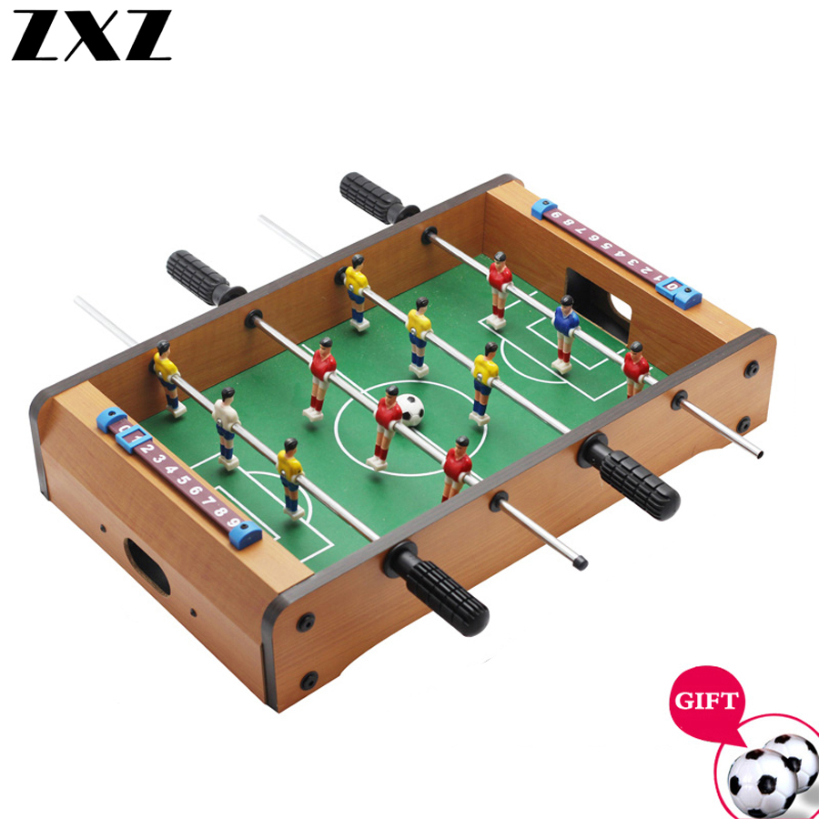 Funny Foosball Soccer Games Table Top Sports for Home Family Party Leisure Ball Desk Game Kids Toy Party Gifts 34.5*21.5*8cm T4 image