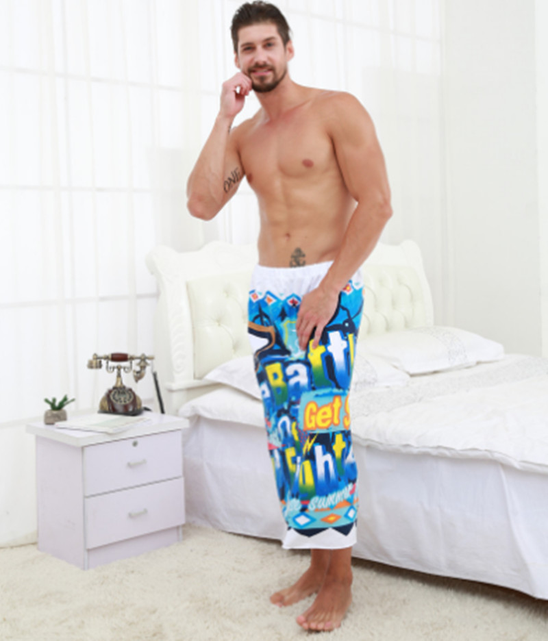 85X120cm Japanese men and womens bathrobe with blue notes soft absorbent breathable 100% cotton yarn fabric bath skirt T240