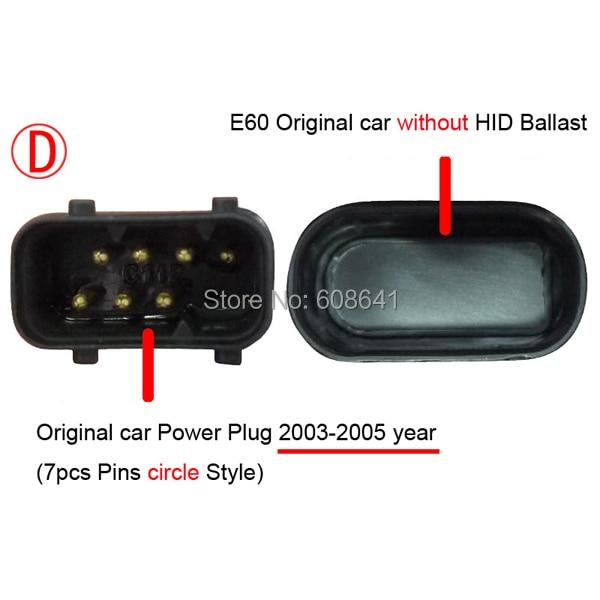 2003-2005Year E60 523i 525i 530i головной светильник CCFL ангельские глазки для BMW автомобиль без HID комплект