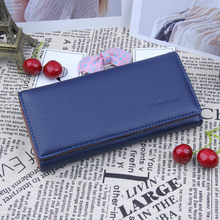 Fashion Unisex Clutch Card Holder Change Bag Purse Handbag Wallet Popular JUNE2(China)