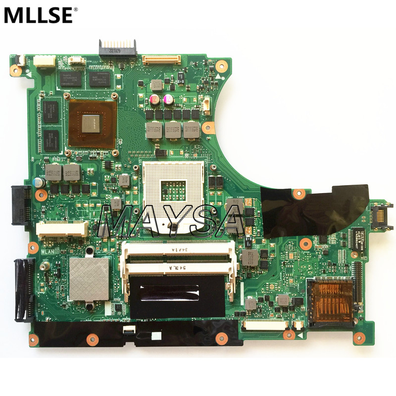 N56VM Rev 2.3 laptop motherboard Fit For Asus N56VM N56VJ N56V N56VZ integrated GT630M 2GB system motherboard ipc motherboard sbc81206 rev a3 rc 100
