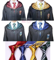 Harry Potter Robe Cape Cloak Gryffindor SlytherinRavenclaw Hufflepuff Cosplay Costumes Kids Adult