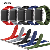 For Apple Watch Bands 38mm 42mm Soft Silicone Replacement Sports Watch Strap For IWatch Series 1