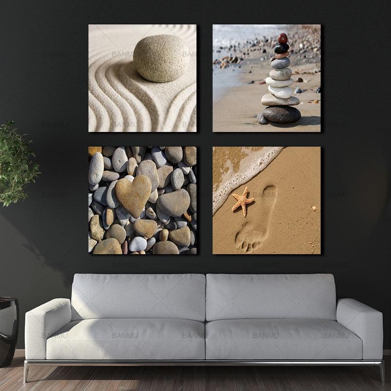 ⑤Banmu pared arte cuadros lienzo pintura cuadro en 3 panel ...