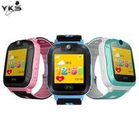 Kinderen Kids Speelgoed Walkie Talkies Smart Horloge 1.4 Inch Touch Screen 3G Stappenteller SIM Real Time Tracking Veiligheid GPS Pols horloge