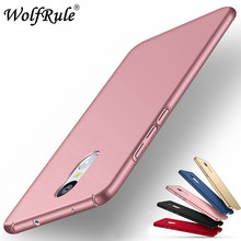 hot deal buy wolfrule case xiaomi redmi note 4x cover ultra-thin back protection plastic case for xiaomi redmi note 4x case redmi note 4x <