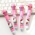 10 Colors Cute Hello Kitty Mickey Princess Ballpoint Pen School Office Supply Ball Pens Kids Gift Stationery