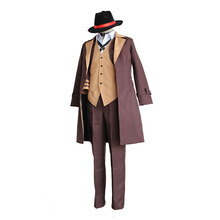 Bungo Stray Dogs Nakahara Chuya Cosplay Coat Suit Full set Literary Stray Dogs Halloween Costume