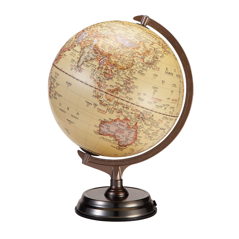 30cm HD Antique 3D Relief Earth Globe Table Lamp Student Kids Geography  Gifts Study Office Desk Decor World Map Light Kids Lamps-in Table Lamps  from Lights ... - 30cm HD Antique 3D Relief Earth Globe Table Lamp Student Kids