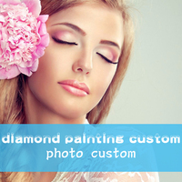 Photos Custom Make Your Own Diamond Painting Custom Full Drill Daimond Rhinestone 5d DIY Painting Embroidery