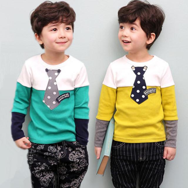 2016 Primavera meninas meninos camisola roupas Da Moda crianças dos desenhos animados Treino manga comprida novatx t camisas dos miúdos do bebê