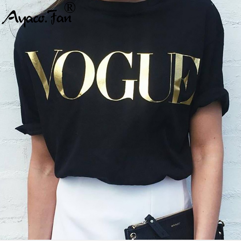 Letter Print Short Sleeve T-Shirts For Women 2019 Summer New O-Neck Loose T-Shirt Casual Slim Lady Girls Tops Tees Plus Size 4XL