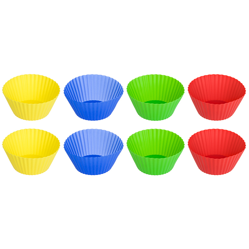 Baking Dishes & Pans Elan Gallery 590003 Bakeware silicone cake mould waffle makers for kids bakeware set nonstick baking mold set