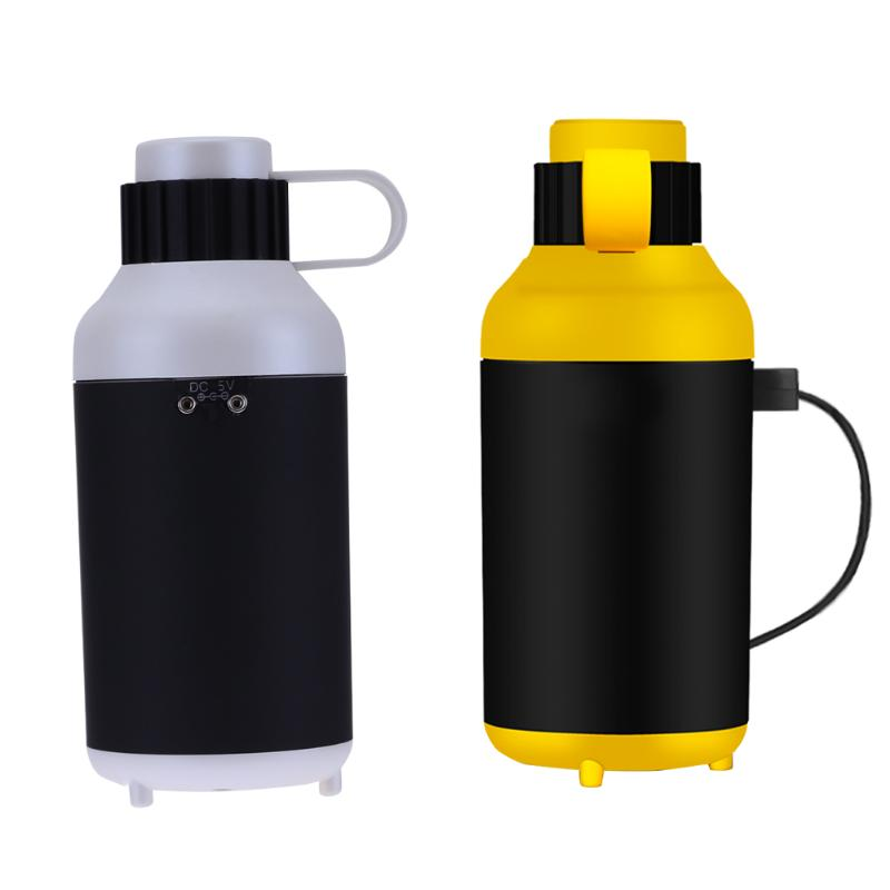 Mini bottle shape Air Diffuser Purifier USB Ultrasonic Aroma Mist Maker Fogger Oil Humidifier Air Freshener for Office Home Car dmwd ultrasonic car air purifier solar energy office household aroma humidifier negative ions remove formaldehyde haze and pm2 5