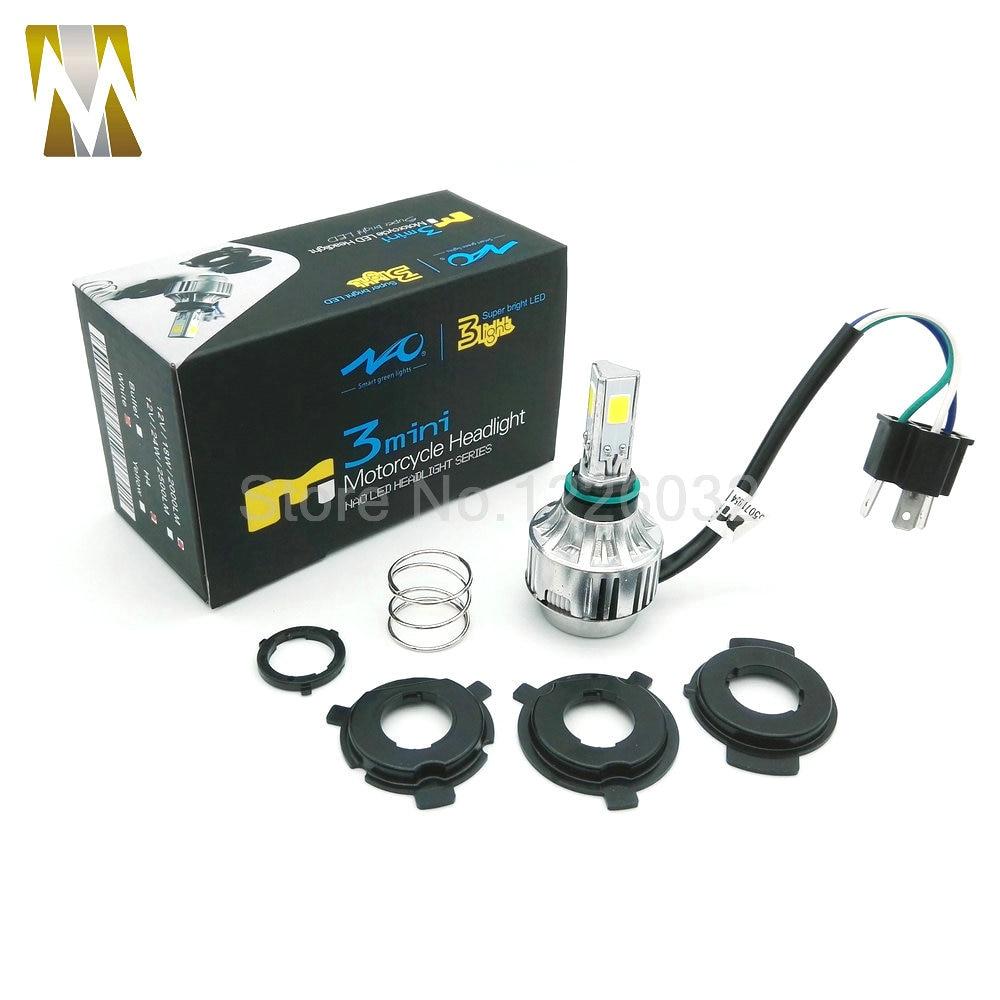 Heinmo 35/W moto kit HID Headlight BA20D H6/M H4/Bi-Xenon Hi//lo lampadina kit set