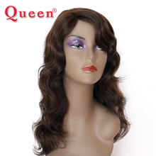 7A Full Lace Wig 200g Human Hair Weave Frontal Light Brown Long Wavy Full Lace Wig Brazilian Virgin Hair For Beauty Women 01