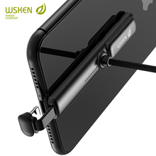 WSKEN Phone Game Charging Cable for iPhone XS Max XR X 8 7 6 5 5S iPad USB Type C Charger Cable for Samsung S9 S8 Huawei USB C