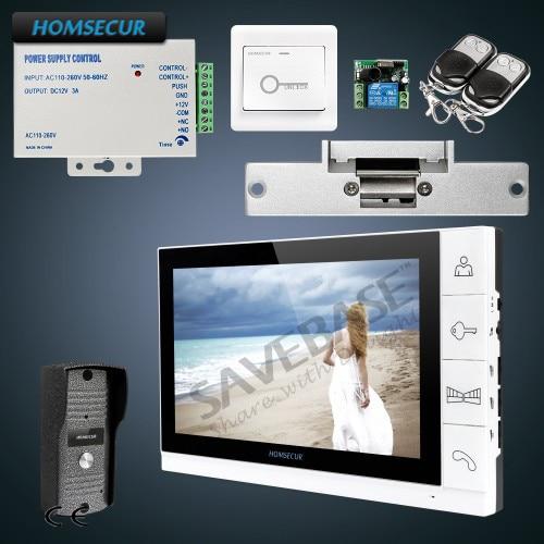 HOMSECUR 9 Hands-free Video&Audio Smart Doorbell+Ultra-large Screen Monitor+Strike Lock free soldier halberd large grey page 9