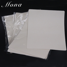 5pcs 20 X 15cm Beginer Training Blank/without Drawing Tattoo Practice Fake Skin Sheet Double Side Supply