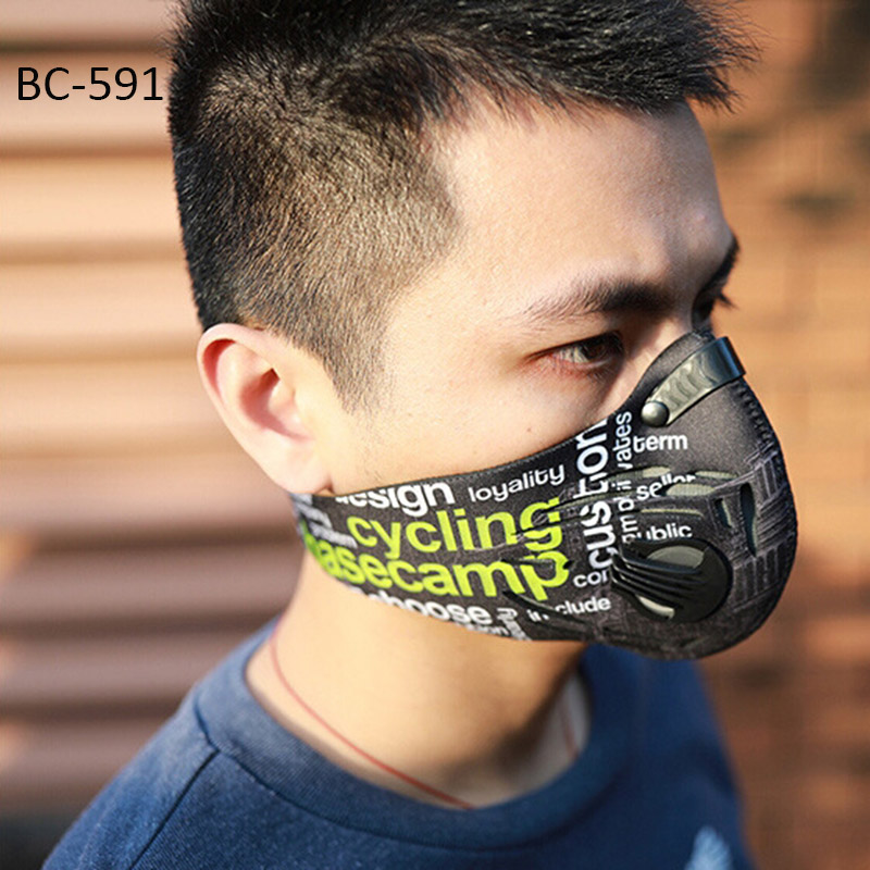 Basecamp Cycling Mask Men Women Sport Face Masks Smog Anti Pollution Anti Dust maske MTB Bicycle Mask mascara ciclismo bisiklet