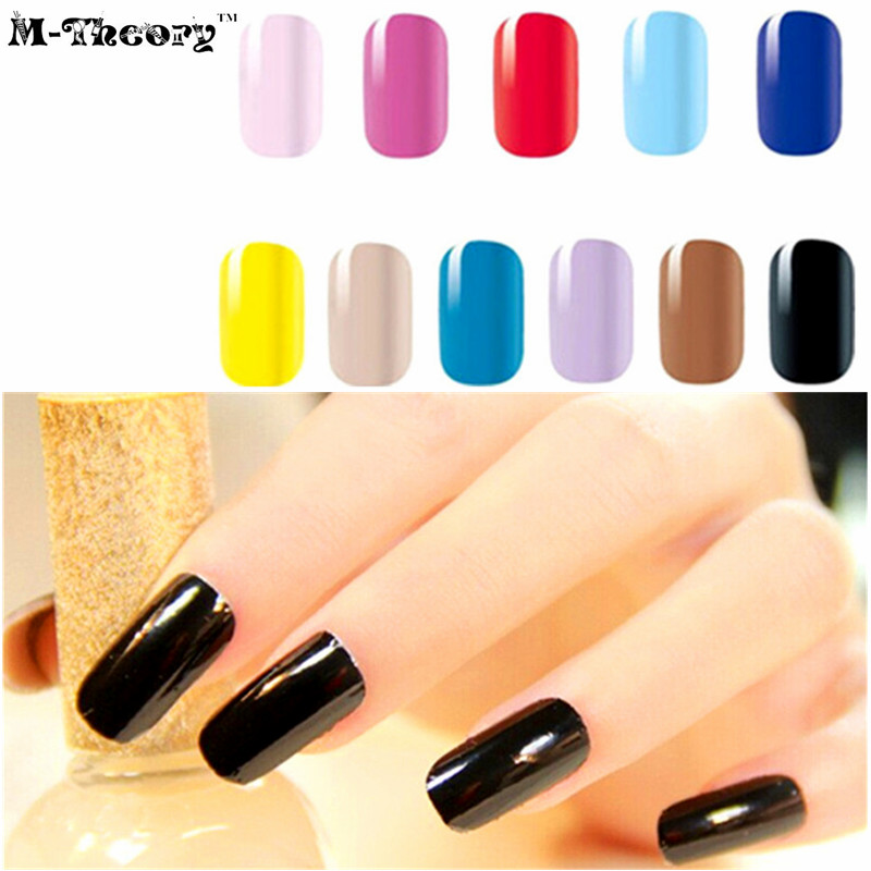 M-theory Adhesive Nude Plain Nails Wraps Stickers 3D Nails Arts Polish Sticker Gel varnish Decals Manicure  Makeup Tools advances in graph theory 3