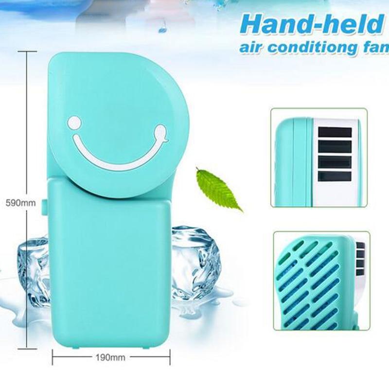 2016 USB Mini Desk Portable Fans NO Blades ReChargeale Air Cooling Fan