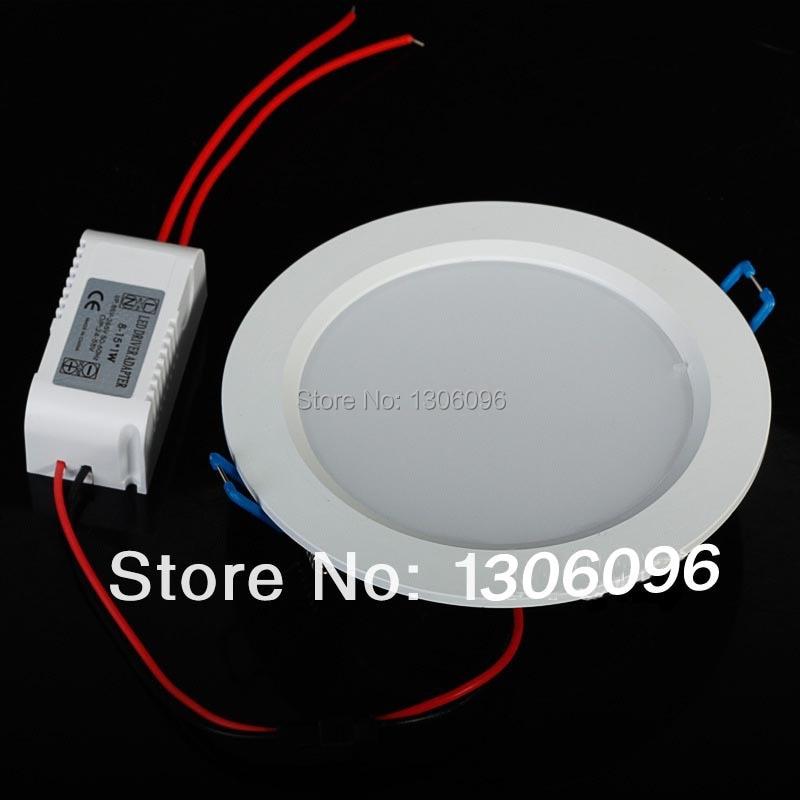 LED világító lámpa AC85-265 7W / 9W / 12W / 15W / 18W / 24W led - LED Világítás - Fénykép 3