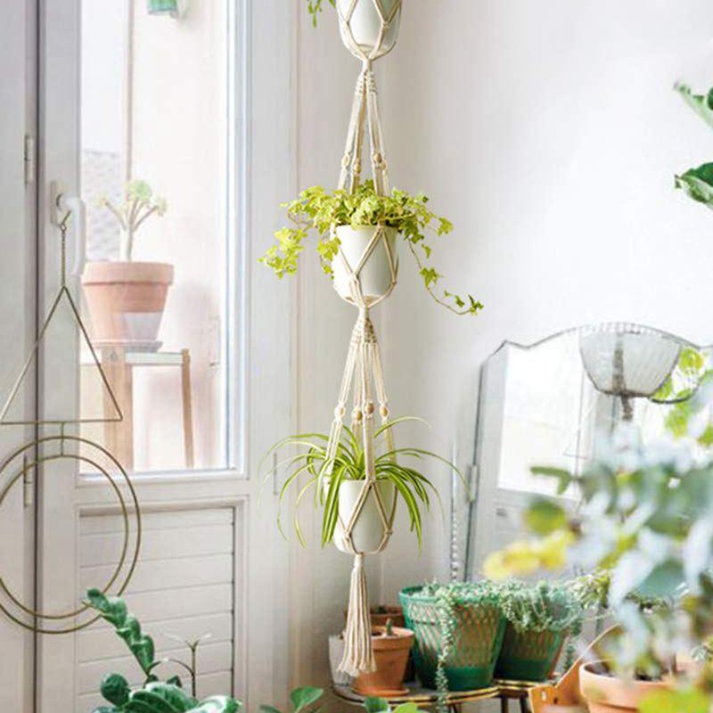 Wall Hanging Planter Basket