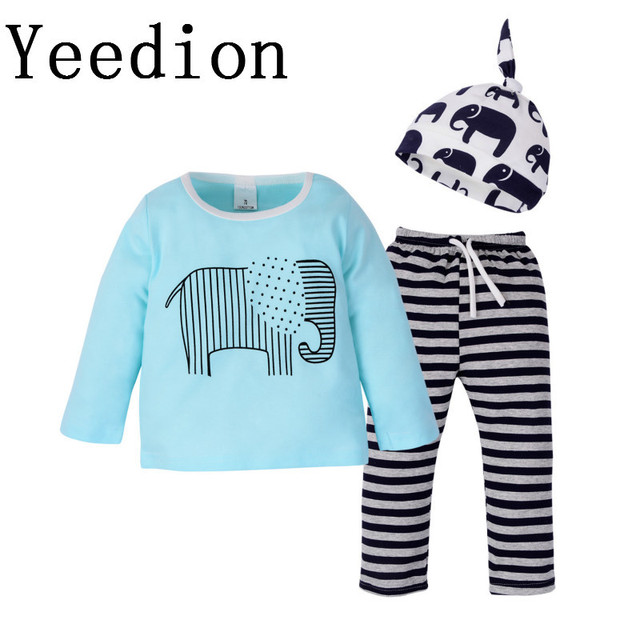 4dd694aa1c77 2018 New Pattern Children s Garment Two Paper Suit Twinset Baby Long ...