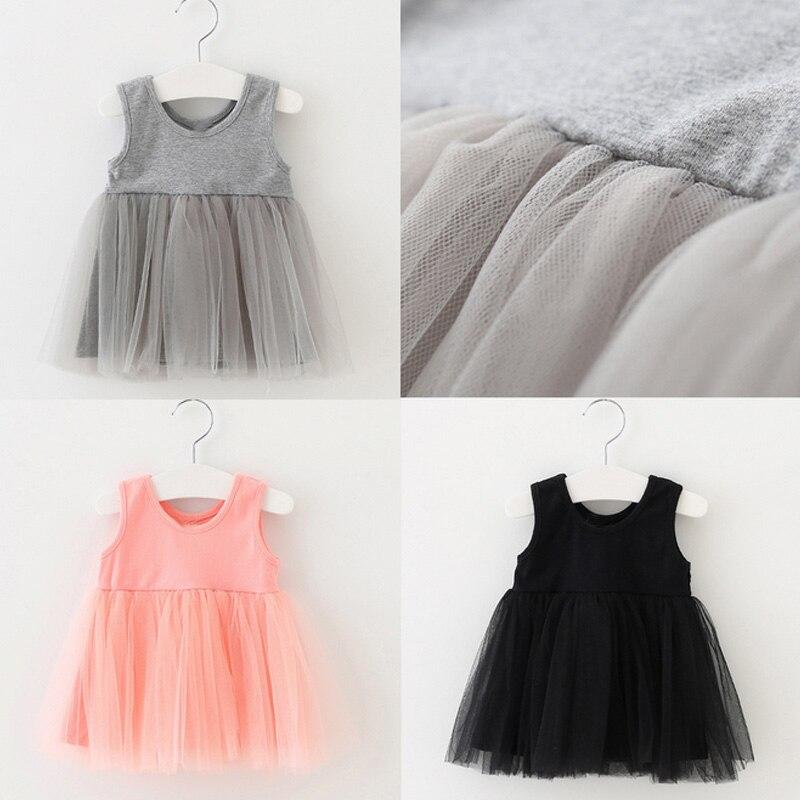 Fashion Kids Baby Girls Cotton Carnaval Dress Spring Summer Princess Sleeveless Tutu Dresses 88 BM88
