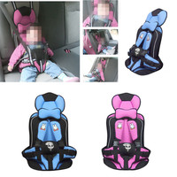 Convertible Portable Baby Safety Seat Car Seat Booster Harness Seat Cover Updated Version Thickening Cotton Kids