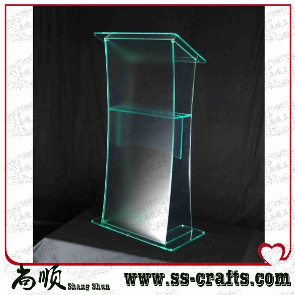 Acrylic Lectern/ pulpit,/ podium/rostrum/ furniture acrylic desktop lectern acrylic classroom lectern podium acrylic podium products