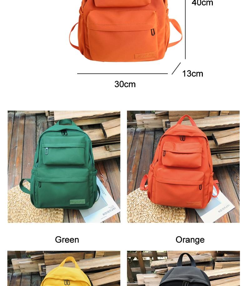 HTB1PcWJKCzqK1RjSZPcq6zTepXaQ DCIMOR New Waterproof Nylon Backpack for Women Multi Pocket Travel Backpacks Female School Bag for Teenage Girls Book Mochilas
