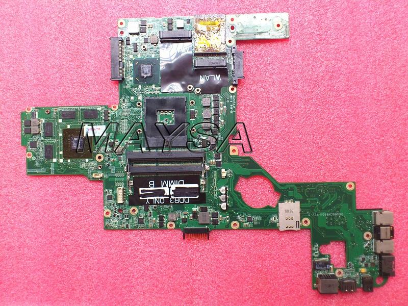 CN-0714WC 714WC материнская плата подходит для DELL L502X Материнская плата ноутбука DAGM6CMB8D0 HM67 с дискретной графикой