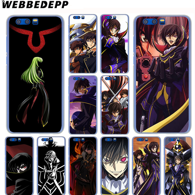 US $1 99 13% OFF|WEBBEDEPP Code Geass Anime Japan Case for SamSung Galaxy  A9 A8 A7 A6 Plus A5 A3 2018 2017 2016 2015 Phone Cover-in Half-wrapped Case
